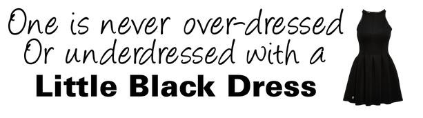 Quotes About Black Dress 101 Quotes