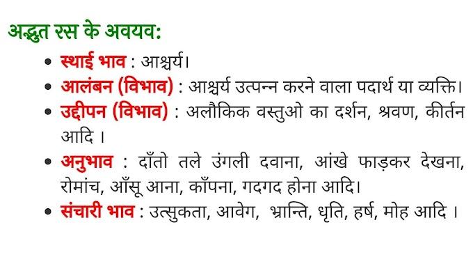अद्भुत रस  - परिभाषा, भेद और उदाहरण : हिन्दी व्याकरण