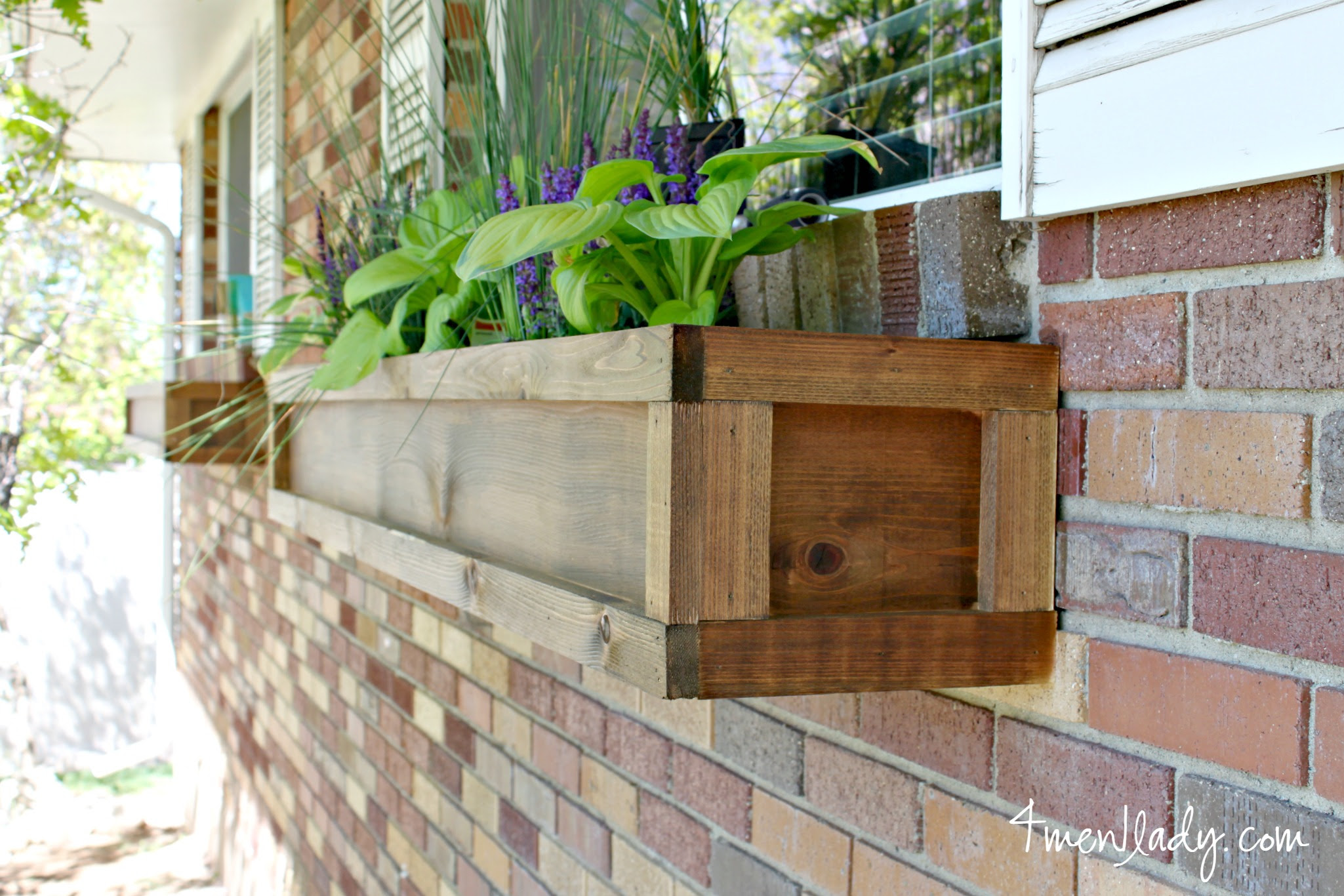 DIY Window Boxes and a $100. ACE Giftcard Giveway.