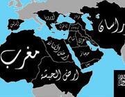 La mappa del Califfato