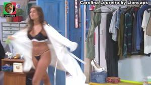 Carolina Loureiro super sensual na novela Nazaré