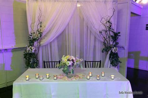 fabric background backdrops pipe  drape wedding
