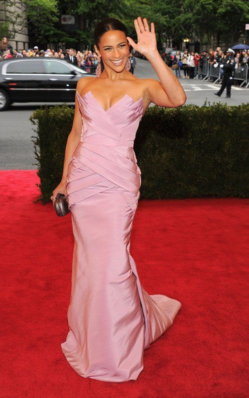 Costume Institute Gala Met Ball - May 7, 2012, Paula Patton