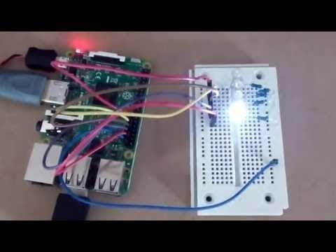 ทำ LED Blinker ด้วย RPI.GPIO.TH