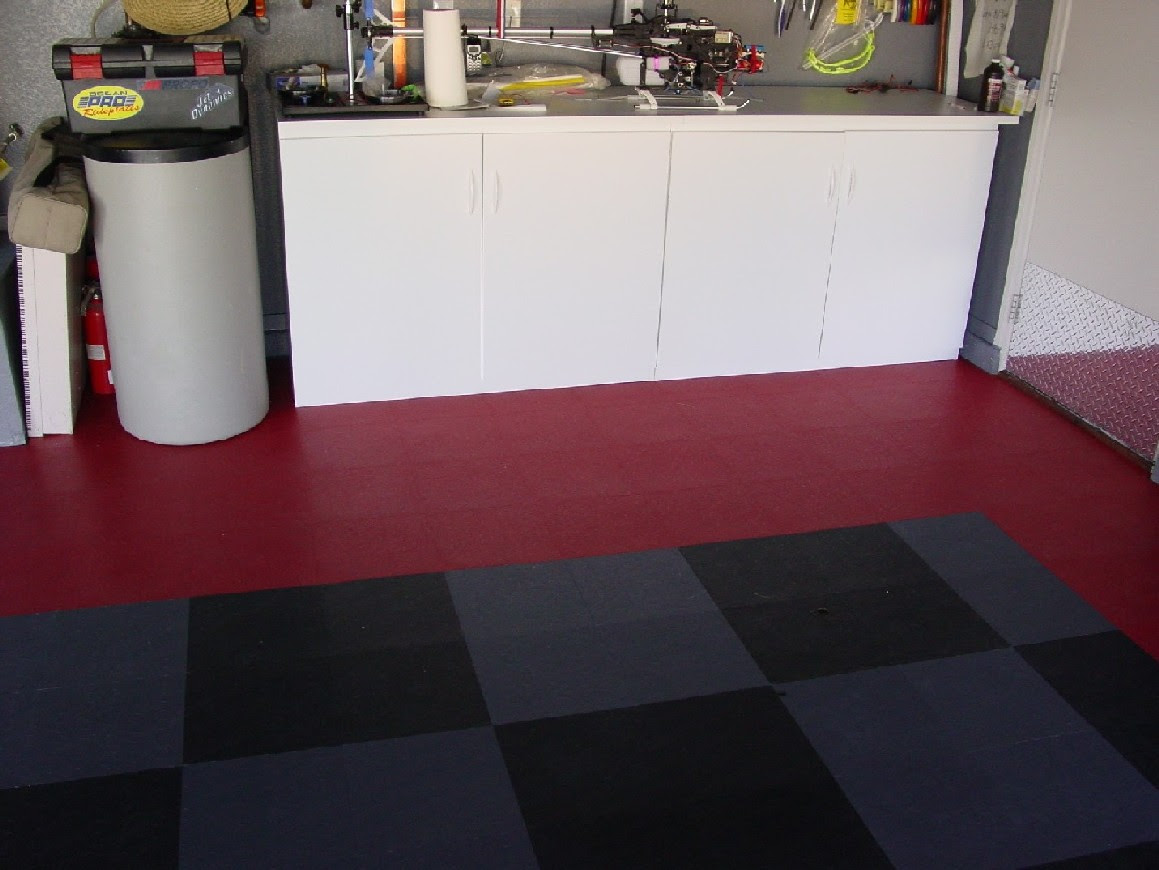 Rubber Garage Tiles at Costco