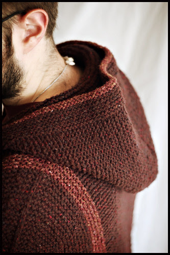 Adult Tomten Jacket - Hood Detail