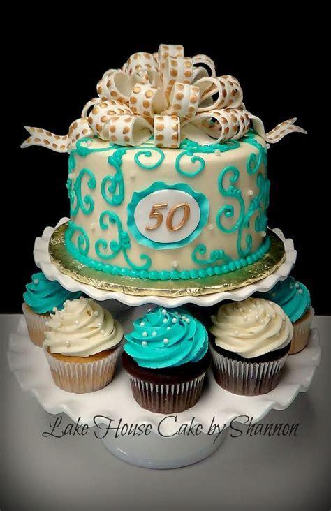 Wedding Anniversary Fiftieth 50th 50 Loopy Bow Pearls Gold