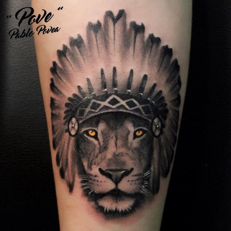 Tatuaje Penacho Indio Frasesparatatuajesclub
