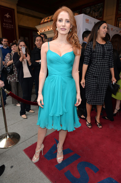 Jessica Chastain - 'The Disappearance of Eleanor Rigby' Premiere