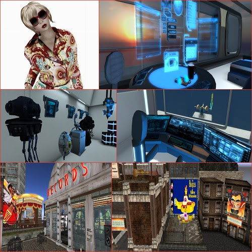 Sonic Lab Collage 2 by Kara 2