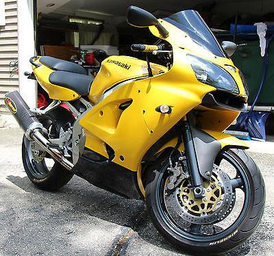 First Ride 2002 Kawasaki Zx 6r 636 Visordown