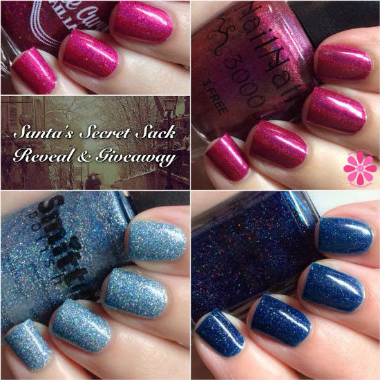 Santa's Secret Sack Reveal & Giveaway from SuperChic Lacquer