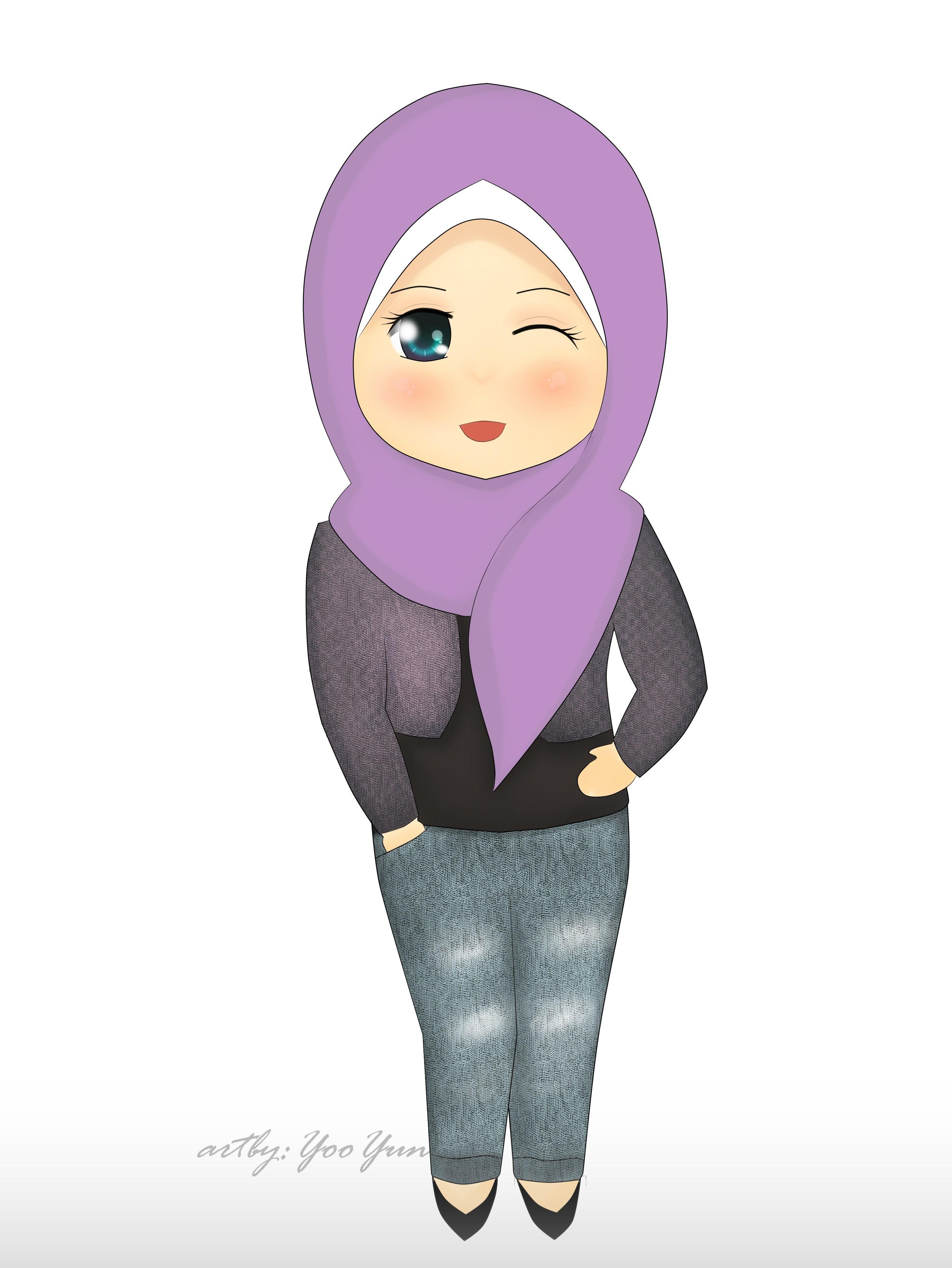 Gambar Kartun Perempuan Cantik Pernik Wallpaper