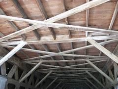 Interior of Roseman Bridge