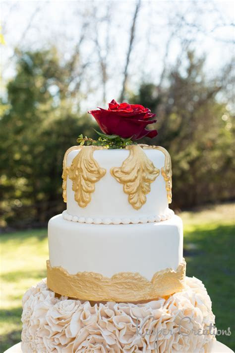 Beauty and the Beast Inspiration Wedding   Styled Shoot