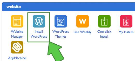 cPanel Install WordPress