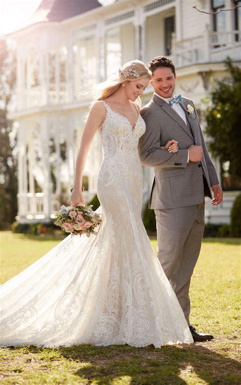 Wedding Dresses   French Inspired Lace Wedding Dress