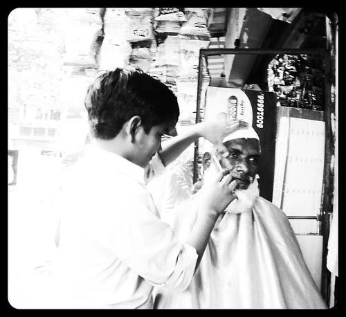 I Have Documented Street  Barbers Integral Part Of Hair Hating Society.. by firoze shakir photographerno1