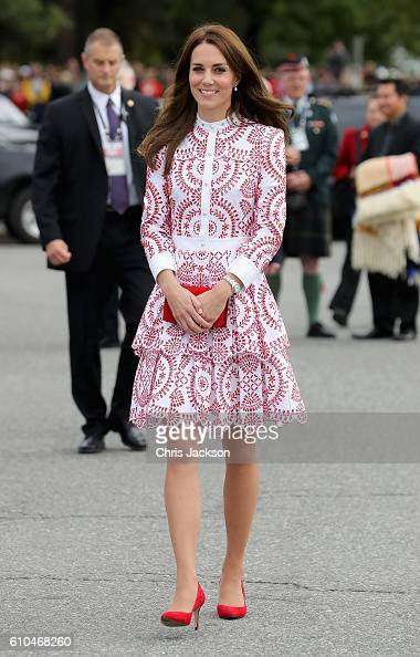 2016 Royal Tour To Canada Of The Duke And Duchess Of Cambridge : News Photo