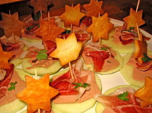 tartine al prosciutto con fois gras e mele by fugzu