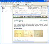 Local Website Archive Screenshot