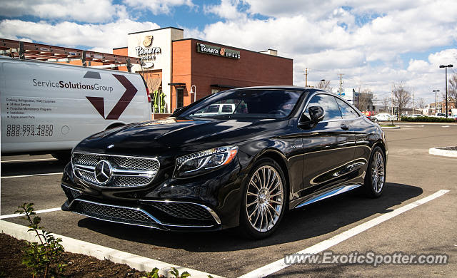 Mercedes S65 AMG spotted in Columbus, Ohio on 03/21/2016