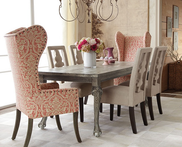 44 Elegant Feminine Dining Room Design Ideas | DigsDigs