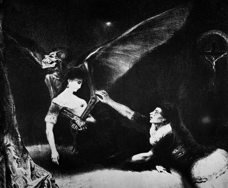 Louis Boulanger - The Phantoms, 1829
