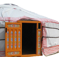 An Authentic Mongolian Yurt