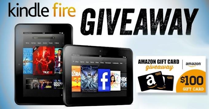 Sorteio de Um GiftCard da Amazon de US$ 100 e um Kindle Fire!