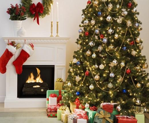 decorations christmas living room