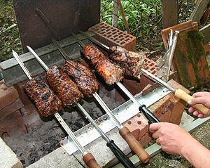 Brazilian Churrasco (made in Germany)