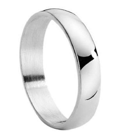 Stainless Steel Wedding Ring For Men, Classic Domed