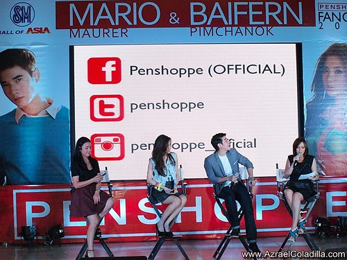 Penshoppe FanCon 2013 with Mario Maurer and Baifern Pimchanok - photos by Azrael Coladilla
