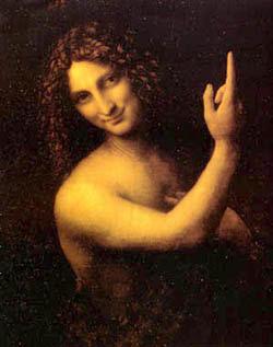 John Baptist by Da Vinci