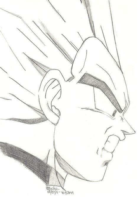 vegeta dragon ball goku drawing dbz drawings