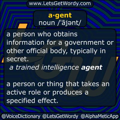 agent 01/06/2015 GFX Definition