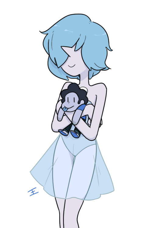 Some blue pearl being adorable :^>