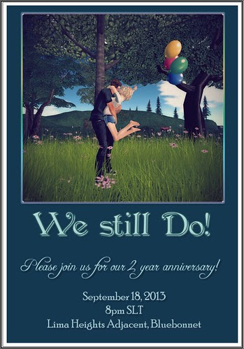 Our 2 Year Anniversary Party!