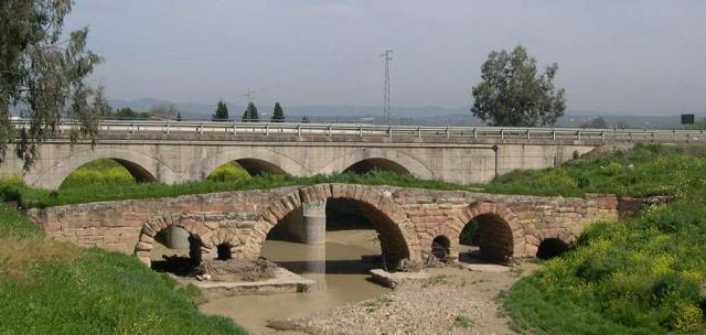 Puente romano de Villa del Río (Córdoba).