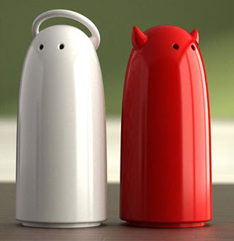 20 Of The Most Creative And Coolest Salt And Pepper Shakers Around