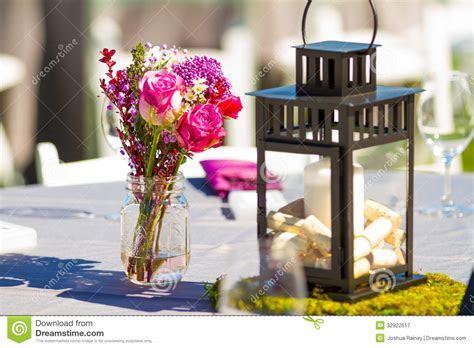 Wedding Reception Table Details Stock Image   Image: 32922517