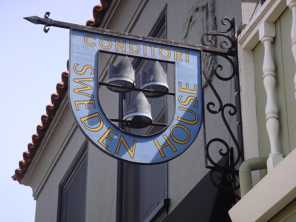 Sweden House Sign