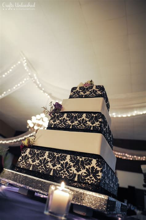 Wedding Card Box: 4 Tier Fabric Covered   Crafts Unleashed
