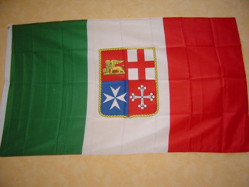 Fahnen Flaggen ITALIEN MIT WAPPEN 150 x 90 cm ...