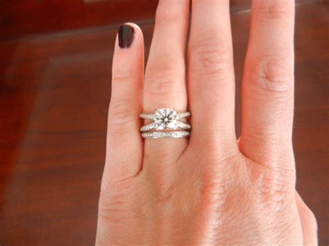 David Yurman Platinum Pave Diamond Crossover Engagement