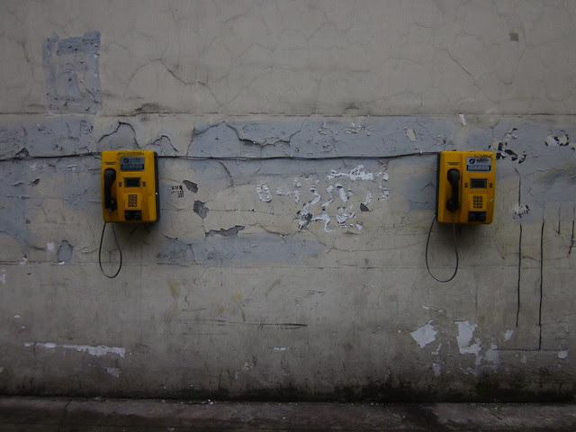 Two phones, Chengdu