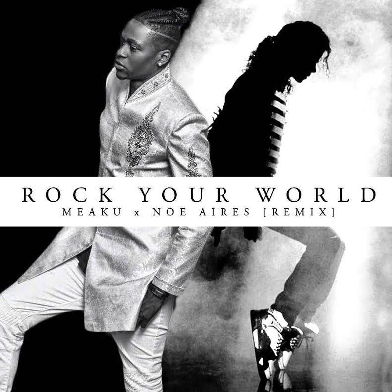 Meaku Rock Your World Art