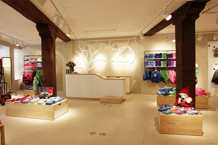 FINKID children clothing concept store by The Store Designers ...