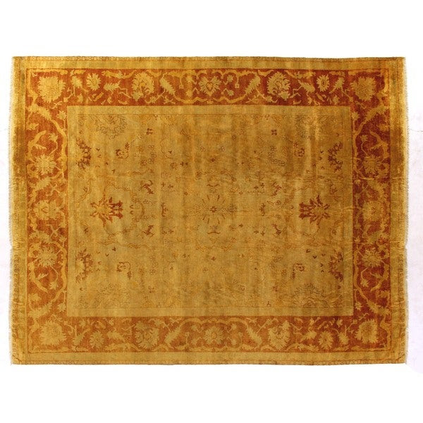Shop Exquisite Rugs Anatolian Oushak Gold Rust New